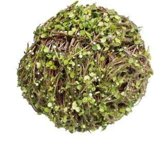 Large topiary greenery balls